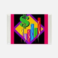 Colorful Bar Chart Magnets