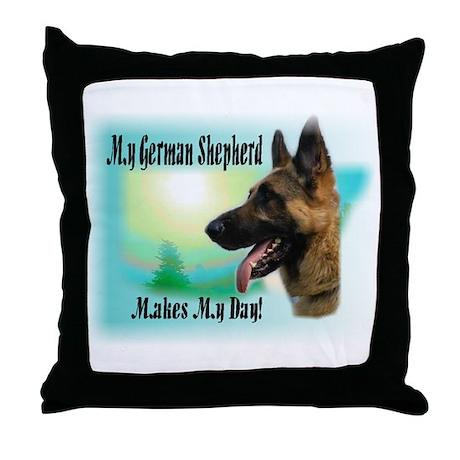 German Shepherd Gifts Throw Pillow
