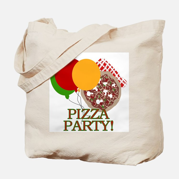 Pizza Party Tote Bag