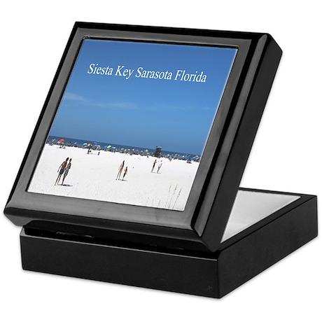Siesta Key Sarasota Florida Keepsake Box