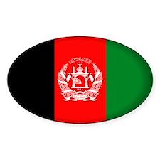 Afghanistan Oval Sticker (50 pk)