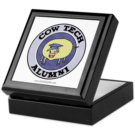 Cow Tech Alumni... Keepsake Box