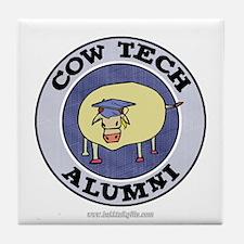 Cow Tech Alumni... Tile Coaster