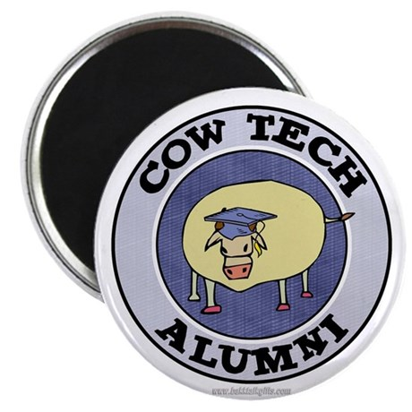 "Cow Tech Alumni... 2.25"" Magnet (10 pack)"