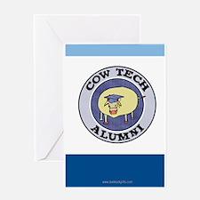 Cow Tech Alumni... Greeting Card