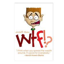 Obama WTF!? Design 1 Postcards (Package of 8)