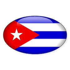 Cuba Oval Decal