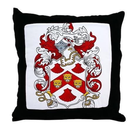 Bennington Coat of Arms Throw Pillow