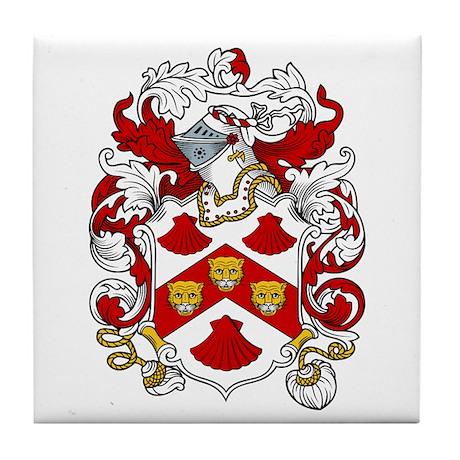 Bennington Coat of Arms Tile Coaster