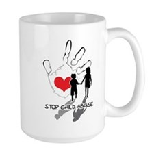 Stop Child Abuse Mug