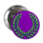 Purple with green laurel Button