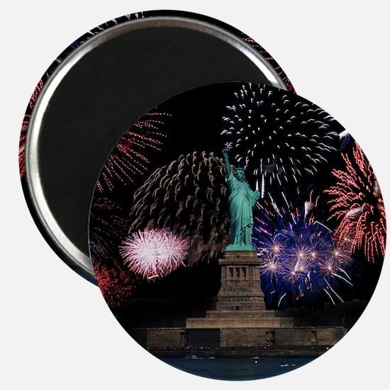 Liberty Fireworks Magnet
