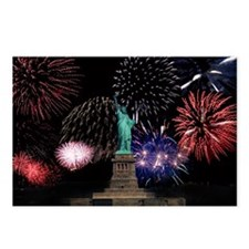 Liberty Fireworks Postcards (Package of 8)