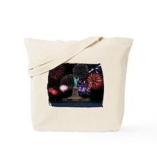 Liberty Fireworks Tote Bag