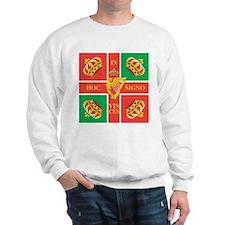 Wild Geese Regiment Flag Sweatshirt