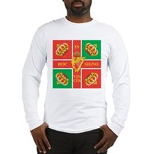 Wild Geese Regiment Flag Long Sleeve T-Shirt