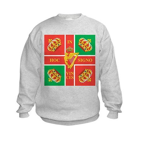 Wild Geese Regiment Flag Kids Sweatshirt