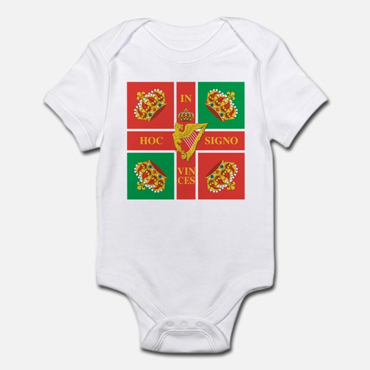 Wild Geese Regiment Flag Infant Bodysuit