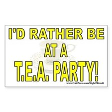 T.E.A. Party (sticker)