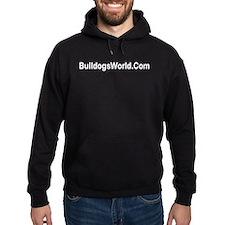 home bulldog gifts, Bull Dog, Hoodie (dark)