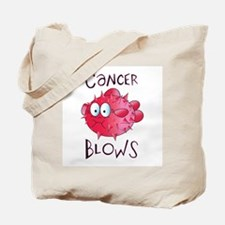 Cancer Blows Tote Bag