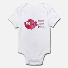 Breast Cancer Blows Infant Bodysuit
