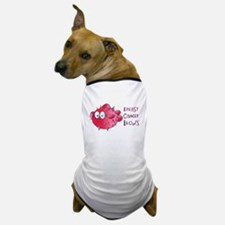 Breast Cancer Blows Dog T-Shirt