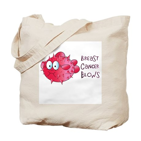 Breast Cancer Blows Tote Bag