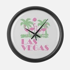 Vintage Las Vegas Large Wall Clock