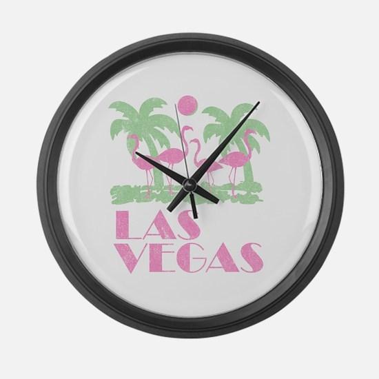 Vintage Las Vegas Large Wall Clock