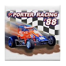Jim Porter Racing Tile Coaster #1