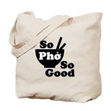 What the pho Tote Bag
