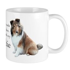 Happy Place Sheltie Small Mug