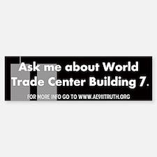 World Trade Center Building 7 Bumper Bumper Bumper Sticker