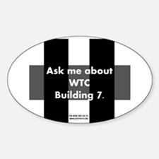 World Trade Center Building 7 Oval Decal