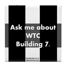 World Trade Center Building 7 Tile Coaster