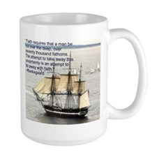 Kierkegaard on Faith Mug