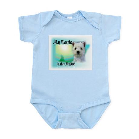 West Highland White Terrier Infant Creeper
