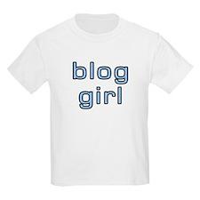 Blog Girl Kids T-Shirt