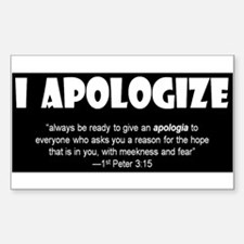 Christian Apologetics Decal