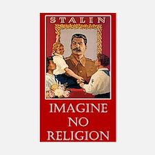 Joseph Stalin Rectangle Decal