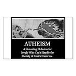 Atheism Rectangle Sticker
