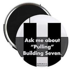 """""""Pulling"""" Building Seven 2.25"""" Magnet (10 pack)"""