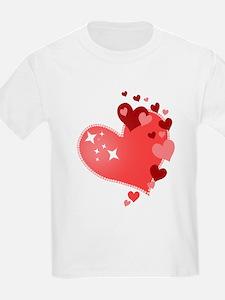 I Love You Hearts T-Shirt