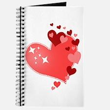 I Love You Hearts Journal