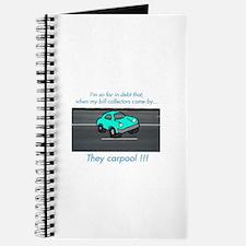 Cute Carpool Journal