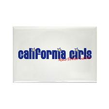 California Girls Make Better Rectangle Magnet