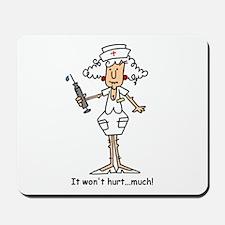 Funny Nurse Two Mousepad
