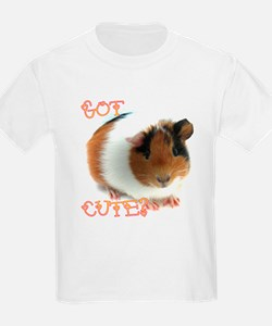 "Kids ""Got Cute"" Guinea Pig Shirt"