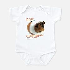 "Infant ""Got Cute?"" Guinea Pig Bodysuit"